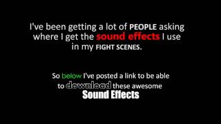 Best Free Fighting Sounds Effects Pack!!!