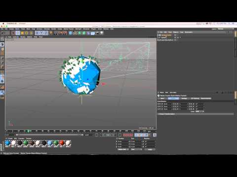 C4D Tutorial: R16 and R17 Motion Tracker for Handheld Camera Move