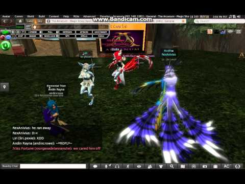 What Does The Fox Say / Furries in Arcanum / Second Life