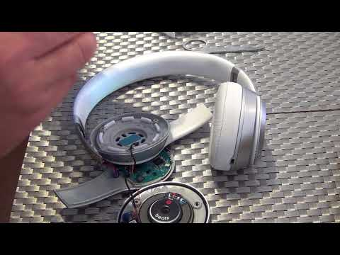beats by dr dre  solo 2 wireless / solo 3 wireless repair one side not working /   part 1