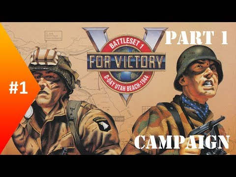 V for Victory : Utah Beach ► Allies Campaign #1 ► Background - Part 1