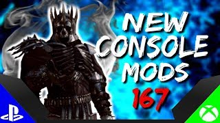 Skyrim Special Edition: ▶️5 BRAND NEW CONSOLE MODS◀️ #167 (PS4/XB1/PC)