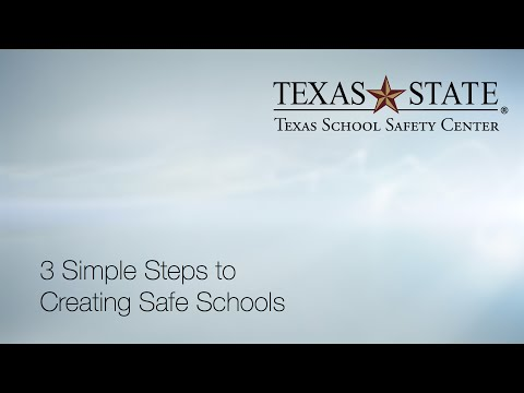 3 Simple Steps to Creating Safe Schools