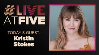 Broadway.com #LiveatFive with Kristin Stokes