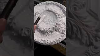 Myfull Decor Polyurethane Ceiling Medallion Water Resistance Test