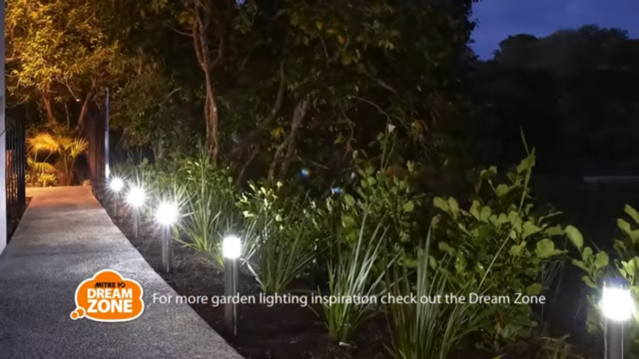 How To Install Garden Lighting Mitre