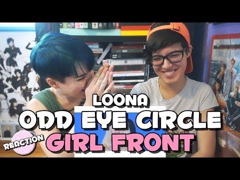 LOONA/ODD EYE CIRCLE - GIRL FRONT ★ MV REACTION