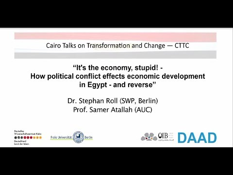 CTTC, It's the economy, stupid! How political conflict affects economic development in Egypt