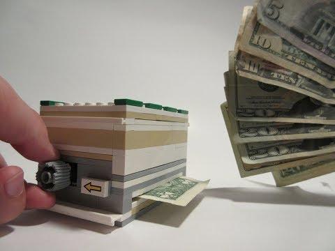 How To Build A Lego ATM Machine