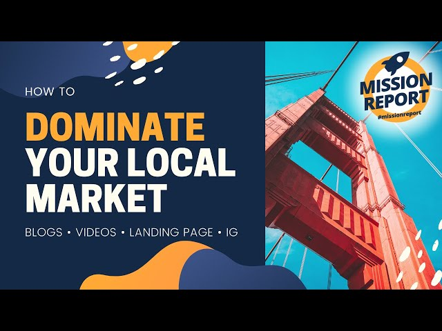 #missionreport - How to dominate your local market as an agent.