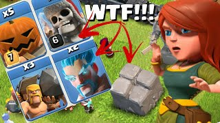 ENCONTREI A VILA MAIS RARA DO CLASH OF CLANS!!!