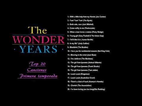 LOS AÑOS MARAVILLOSOS canciones (1° TEMPORADA) top 20