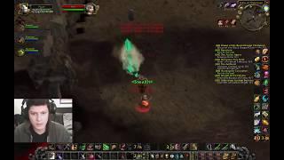 WoW vanilla rogue Kronos PVP -how to ninja the little mine