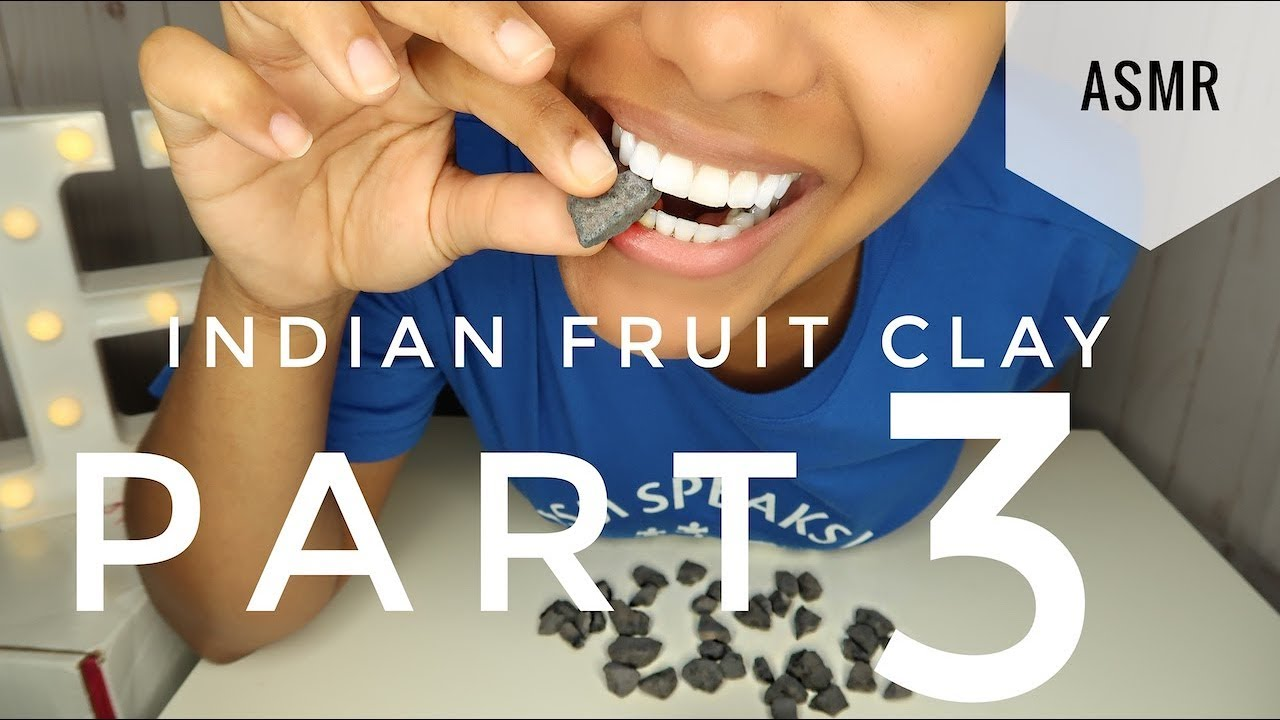 ASMR INDIAN DRY FRUIT CLAY PART 3   Crunchy   NO TALKING