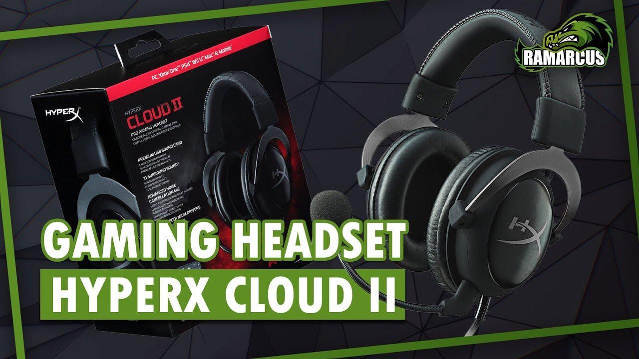 Hyperx Cloud Ii Gaming Headset Pcps4macmobile Gunmetal Youtube