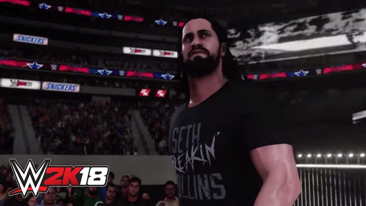 Seth Rollins - WWE 2K18 - Roster