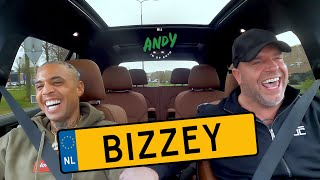 Bizzey - Bij Andy in de auto! (English subtitles)