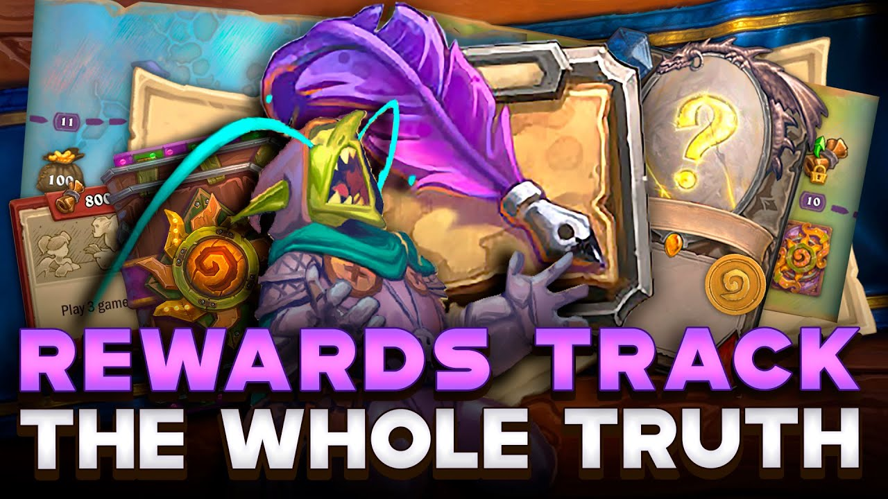 The Whole Truth About Rewards Track. NO HYSTERIA, ONLY FACTS! Less Gold, More Cards! | Hearthstone