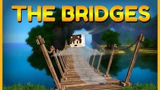 Mini-Troll + Neviditelný Roumean! | Minecraft - The Bridges, Skywars | PVNST w/Roumean,AnttiS