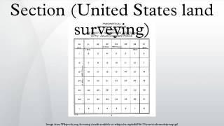 Section (United States land surveying)