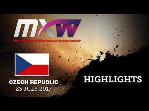 WMX Race1 Highlights_MXGP of Czech Republic 2017
