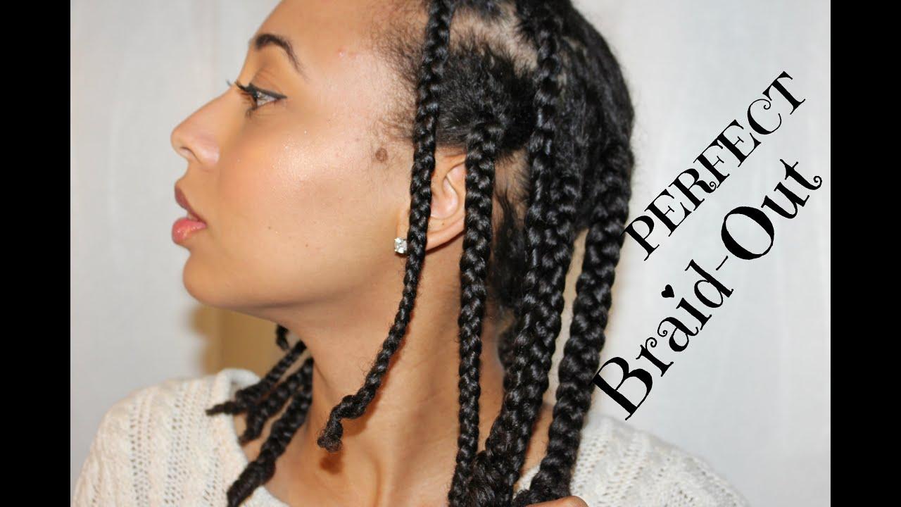 natural hair perfect braid