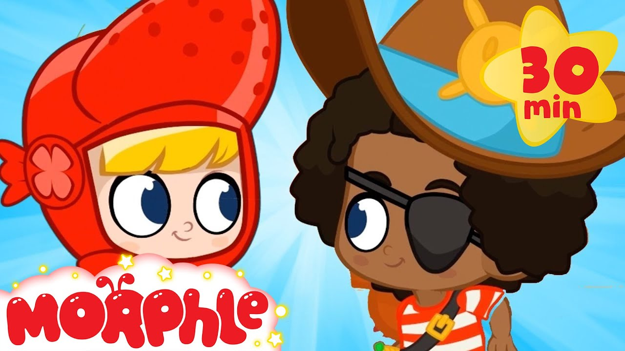 Dress Up Party! - My Magic Pet Morphle | Cartoons For Kids | Morphle TV | Mila and Morphle