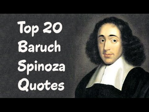 baruch spinoza The young spinoza, given the name baruch, was educated in his congregation's academy, the talmud torah school there he received the kind of education that the community deemed necessary to.