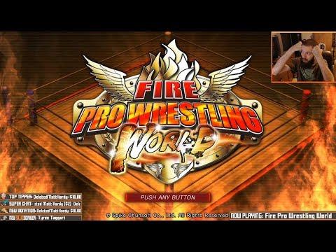 [livestream archive] WRASSLE STREAM (Fire Pro/Wrestling Revolution)