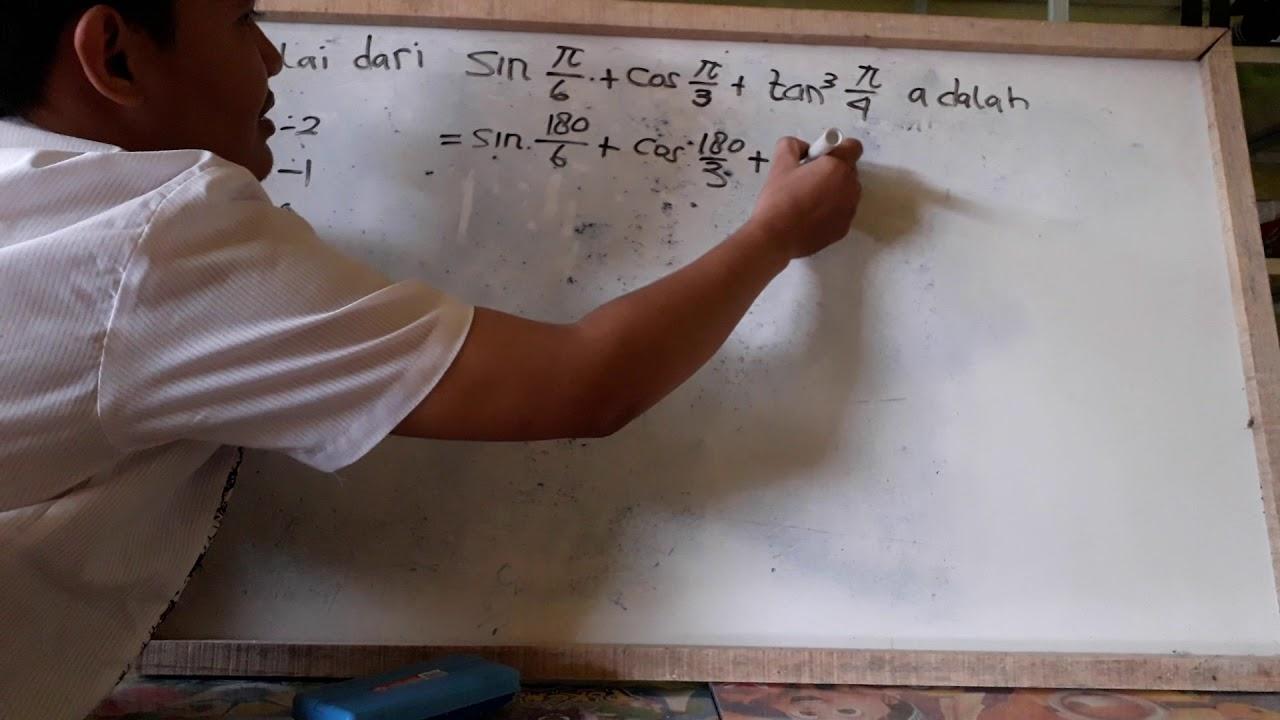 Trigonometri Soal 21 Youtube