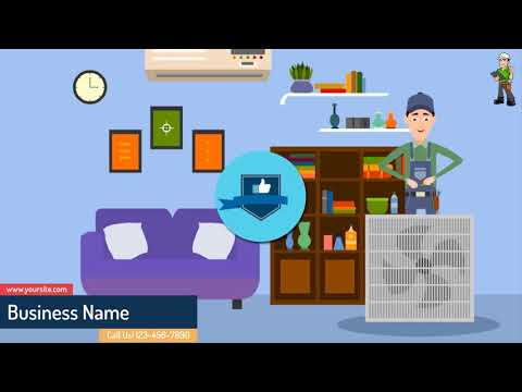 h-vac-service-and-installation-2d-animated-promo-video