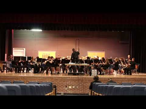 Sanger Middle School Gold Band Colliding Visions