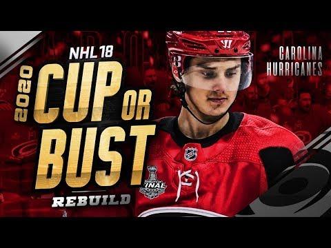 CAROLINA HURRICANES REBUILD! 2020 CUP OR BUST (NHL 18 Franchise Mode)