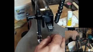 ndm wen model 3920 scroll saw pinless blade change