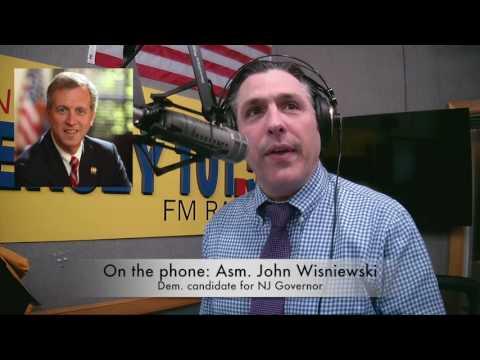 NJ Primary 2017 — John Wisniewski 'We need Gov't leadership'
