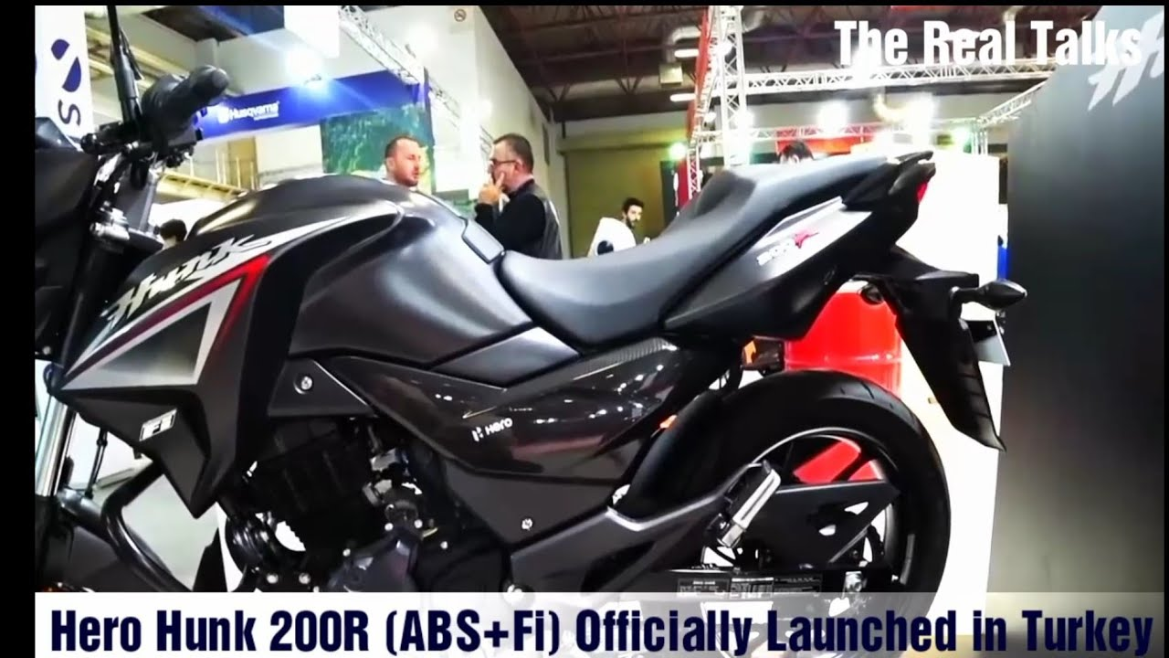 2019 Hero Hunk 200r Xtream 200r Abs Fi Officially Launched In