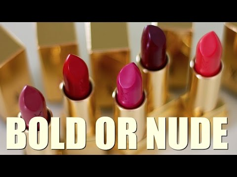 Nude or Bold lipstick? Which one works better? thumbnail