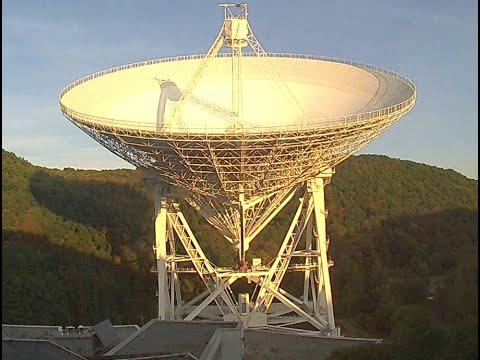 Radiotelescope Effelsberg - Timelapse