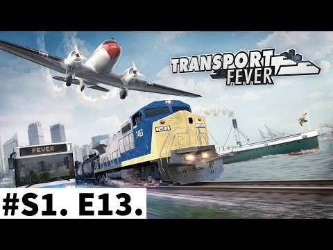 Transport Fever S1E13 - Europe campain - Island Paradise - s