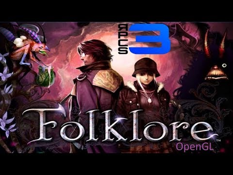 Folklore - RPCS3 TEST (OpenGL)