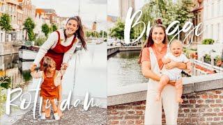 Rotterdam, Ghent, + Bruges Vlog