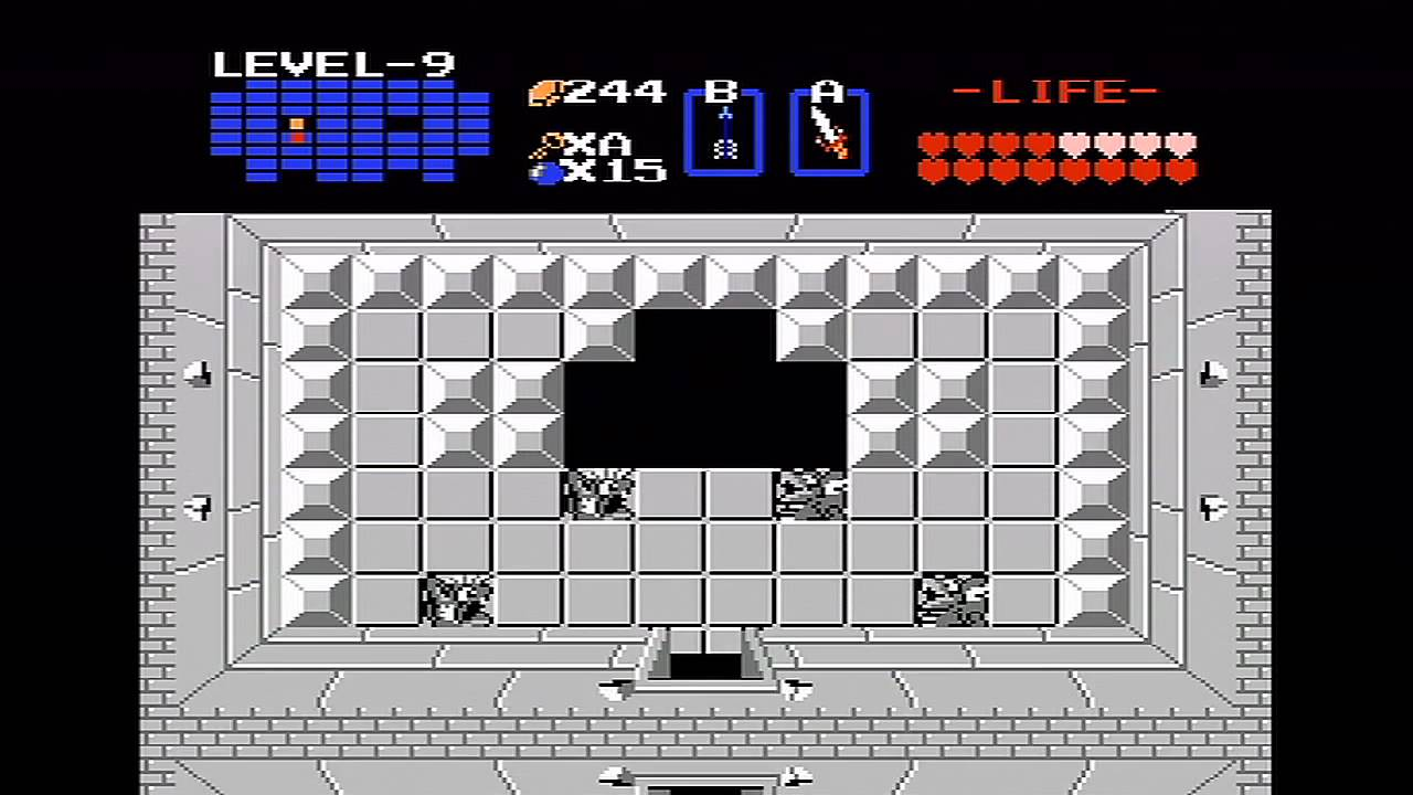 The Legend of Zelda NES Walkthrough Part 12  Level 9