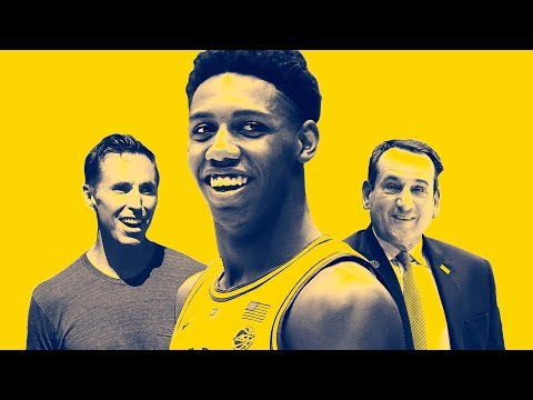 Steve Nash Visits Godson RJ Barrett & Coach K to Talk Duke Brotherhood and the NBA
