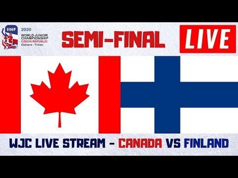 Canada Vs Finland Live Stream | IIHF World Junior Hockey Championship 2020 Play By Play