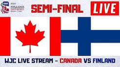 Canada vs Finland Live Stream   IIHF World Junior Hockey Championship 2020 Play By Play