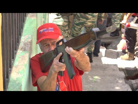 The Bolivarian Militia: Meet the Venezuelans on a war footing