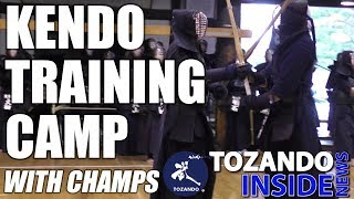 Kendo Training Boot Camp - Kote Technique by Nishimura - Tozando Inside News Digest