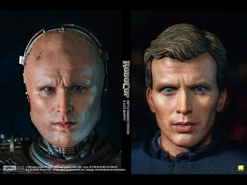 REVIEW : Hottoys Robocop Battle Damaged with Alex Murphy [MM