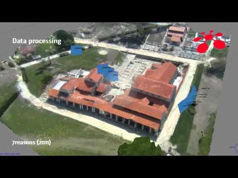 Aerial image based 3D modeling