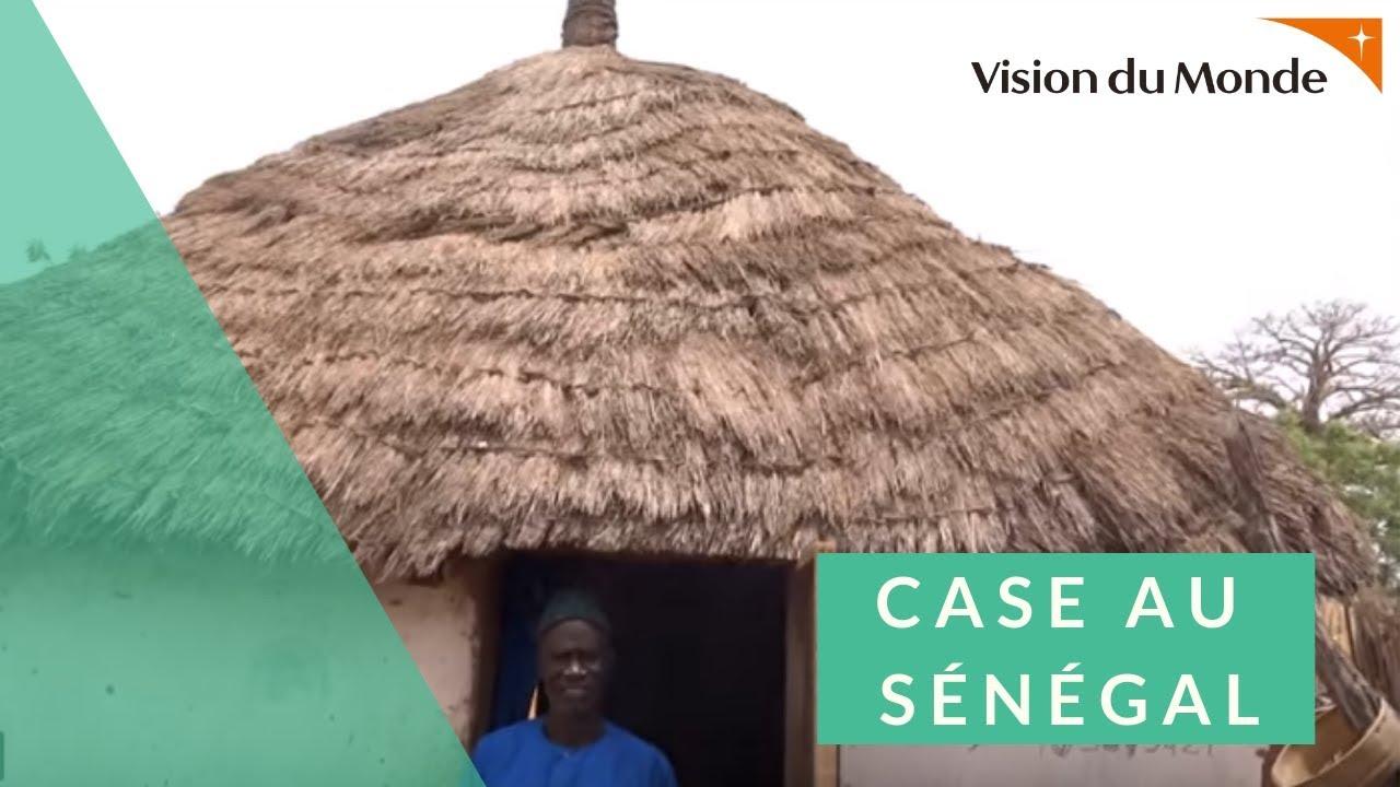 Plan D Une Case Africaine présentation d'une case au sénégal